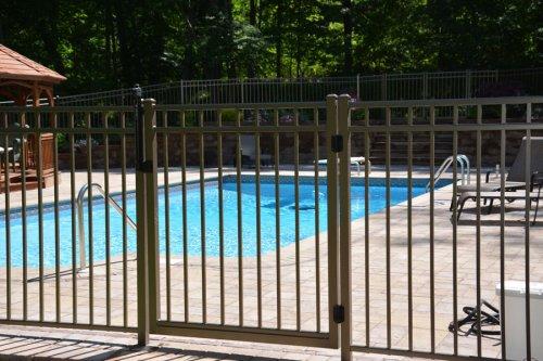 pool - fence